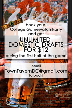 Book a College Gamewatch Party!
